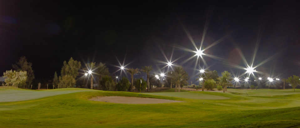 Floodlit Night Golf